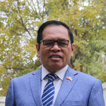 H.E. Mr. Djauhari Oratmangun